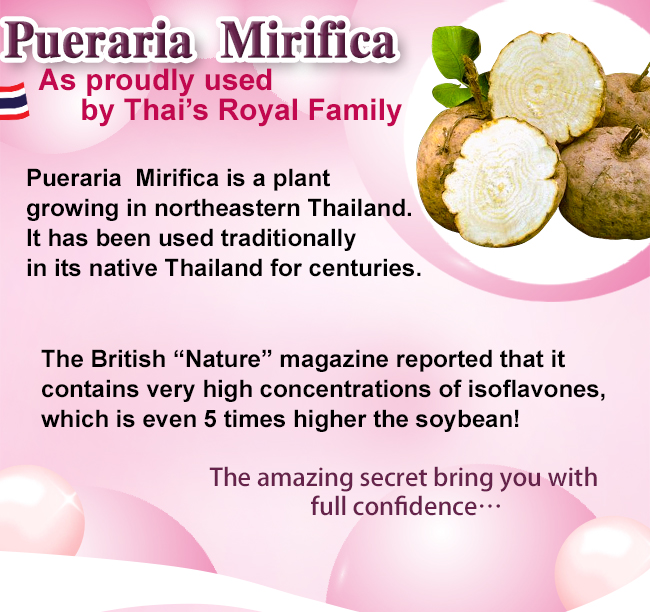 BHK's Pueraria Mirifica supports lactation and post-natal health.