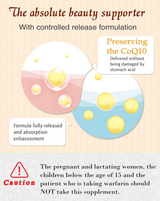 To explain how BHK's coenzyme Q10 effect in body
