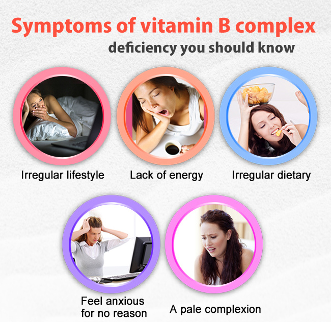 Those who have these symptoms that needs BHK's b-complex plus iron