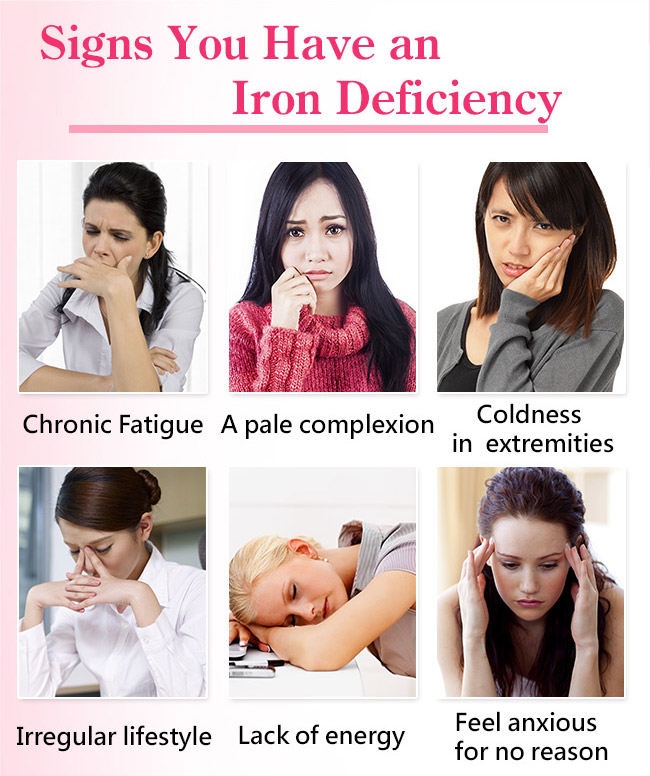 Those who have an iron deficiency are the target audience of BHK's ferrochel