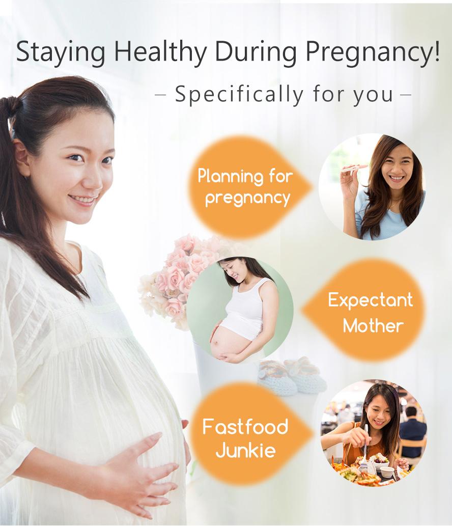 BHK's葉酸一人吃兩人補,給胎兒最營養補充