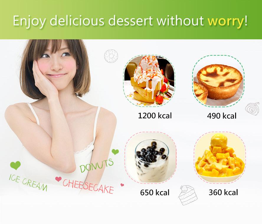 BHK藤黃果讓你不怕甜食的誘惑,再多糖分都不會吸收