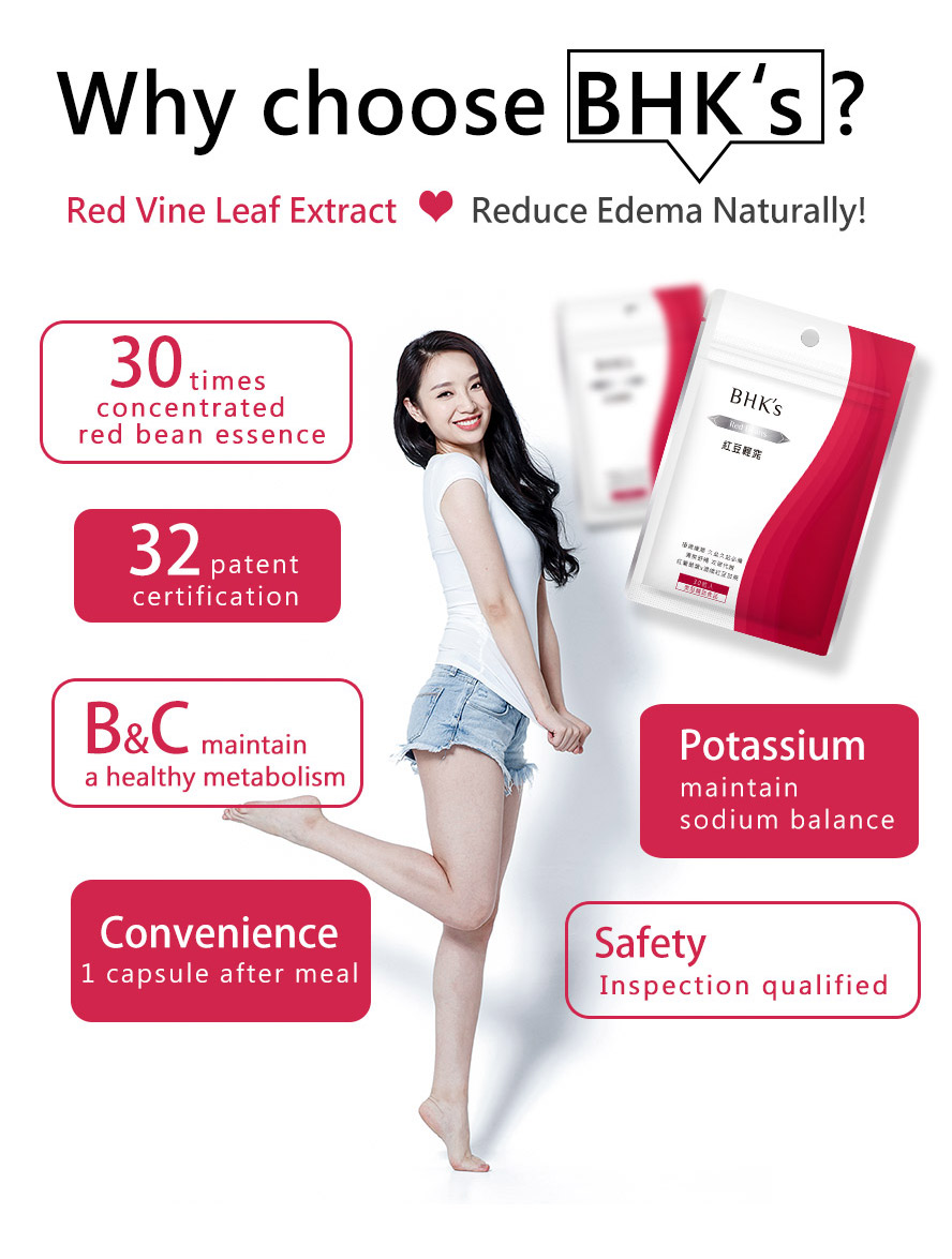 BHK's red bean contains vitamin C and vitamin B that could promote healthy metabolism