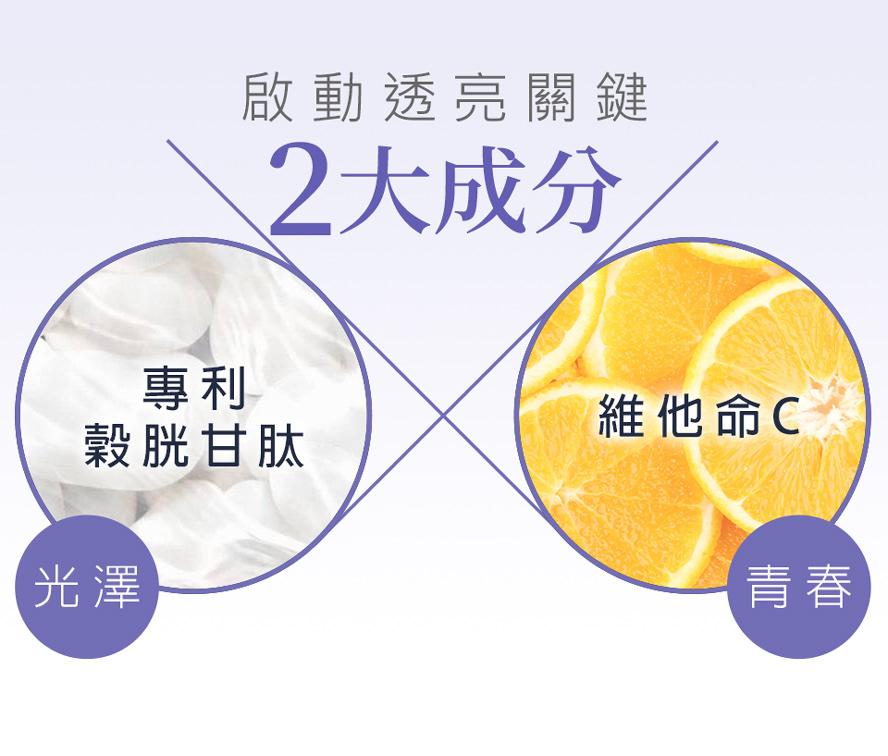 BHK's素食穀胱甘肽有效幫助睡眠,有效美白、養顏美容、淨化皮膚,成為白肉底。