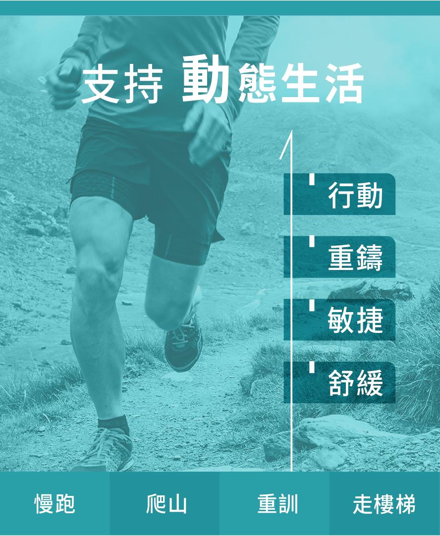台灣約有350萬人有關節困擾,近年來有年輕化的趨勢。