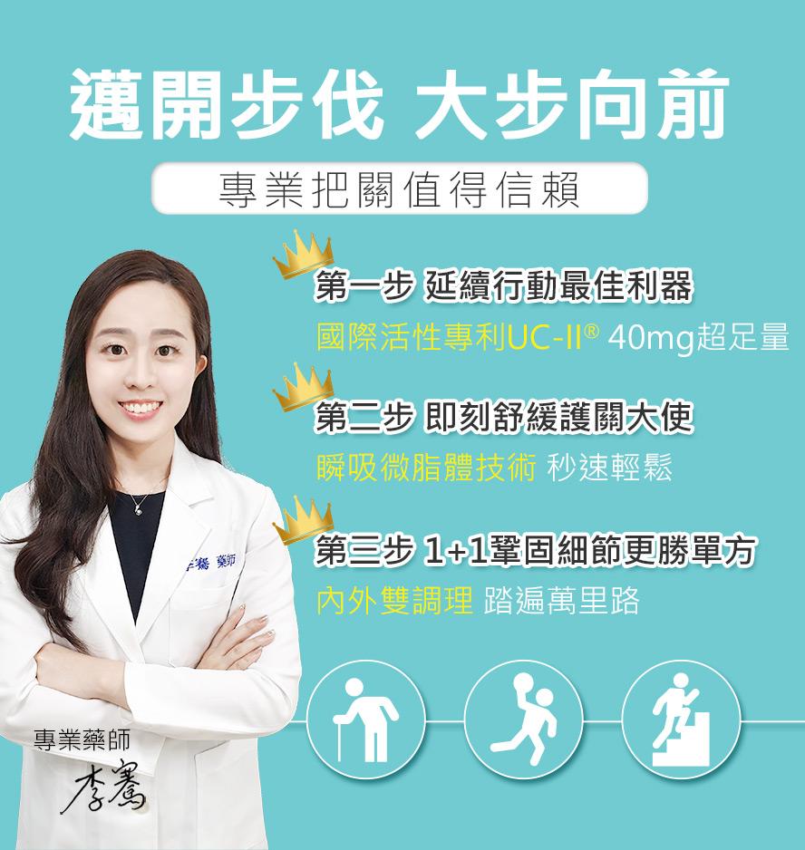 專業藥師推薦BHK'sUCII固喀膠囊、葡萄糖胺乳霜,更值得信賴。