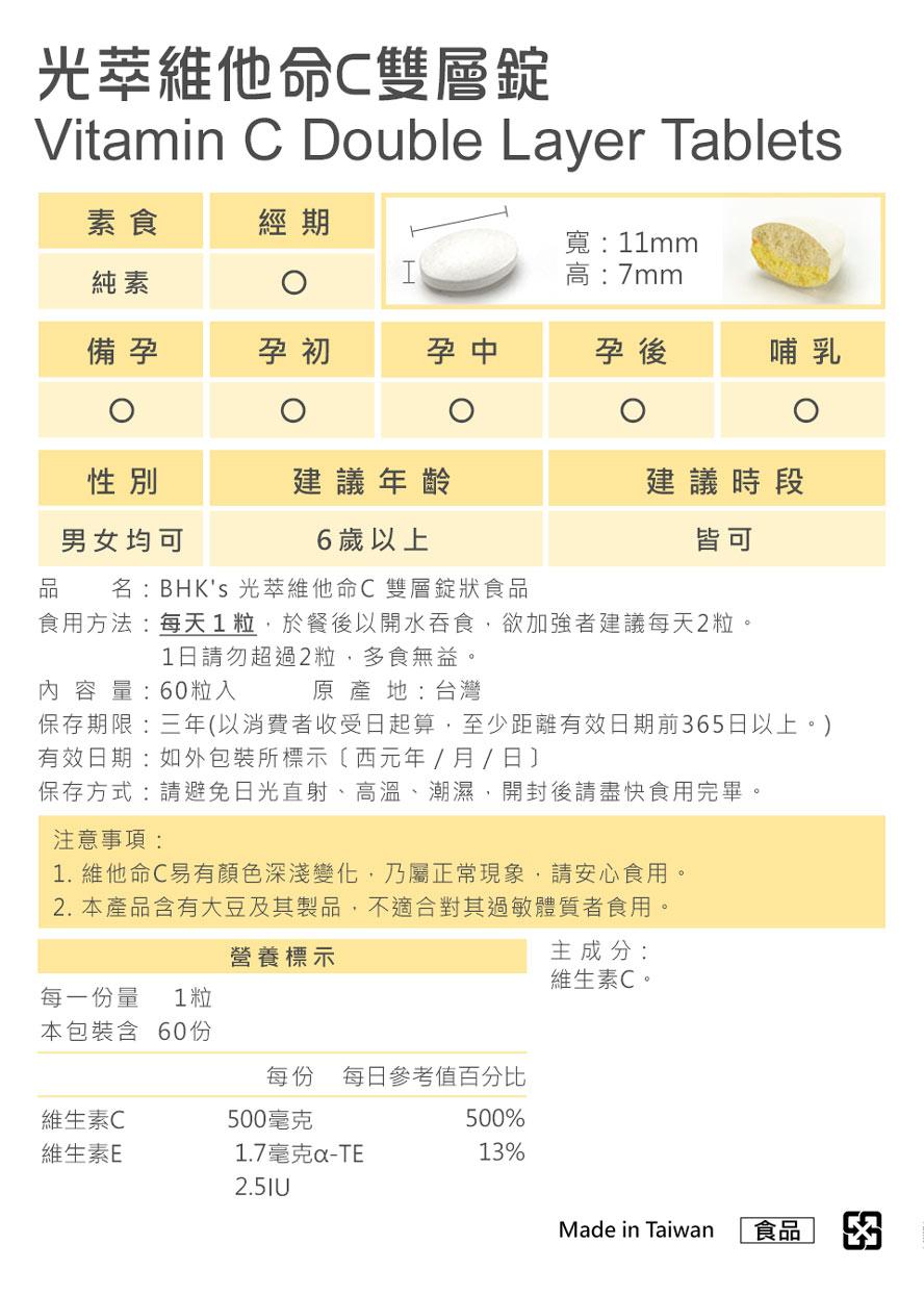 BHK's光萃維他命C、酒精乾洗手通過安全檢驗,安全無慮,無副作用,一起對抗疫情。
