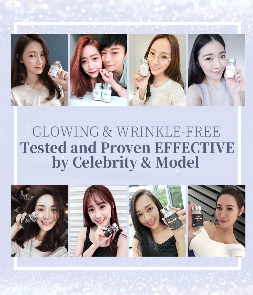 BHK's Glutathione and Ceramide is highly recommended by Taiwanese celebrity, famous blogger .