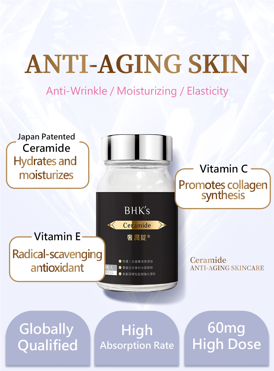 BHK's Glutathione and Ceramide have creamide,vitamin C, and vitamin E makes you beautiful .