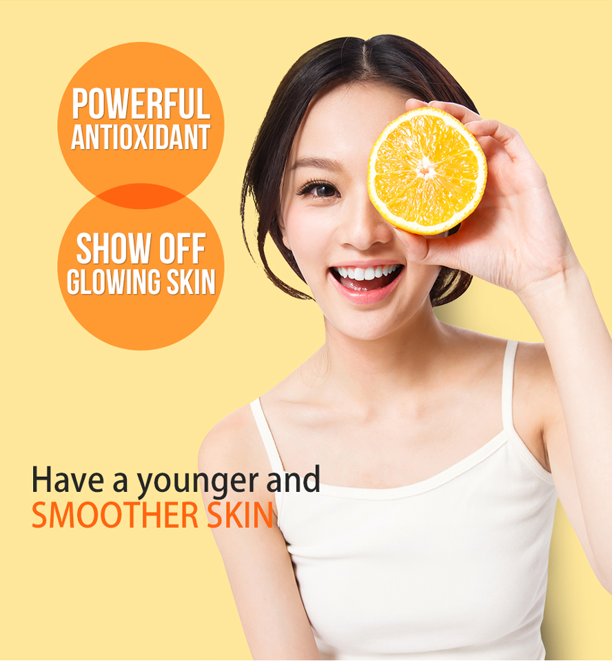 BHK's Vitamin C make you have a younger and smoother skin