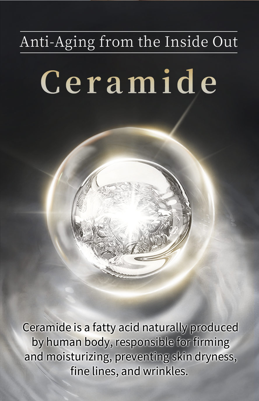 BHK's Ceramide reduce the appearance of fine lines and other signs of aging.