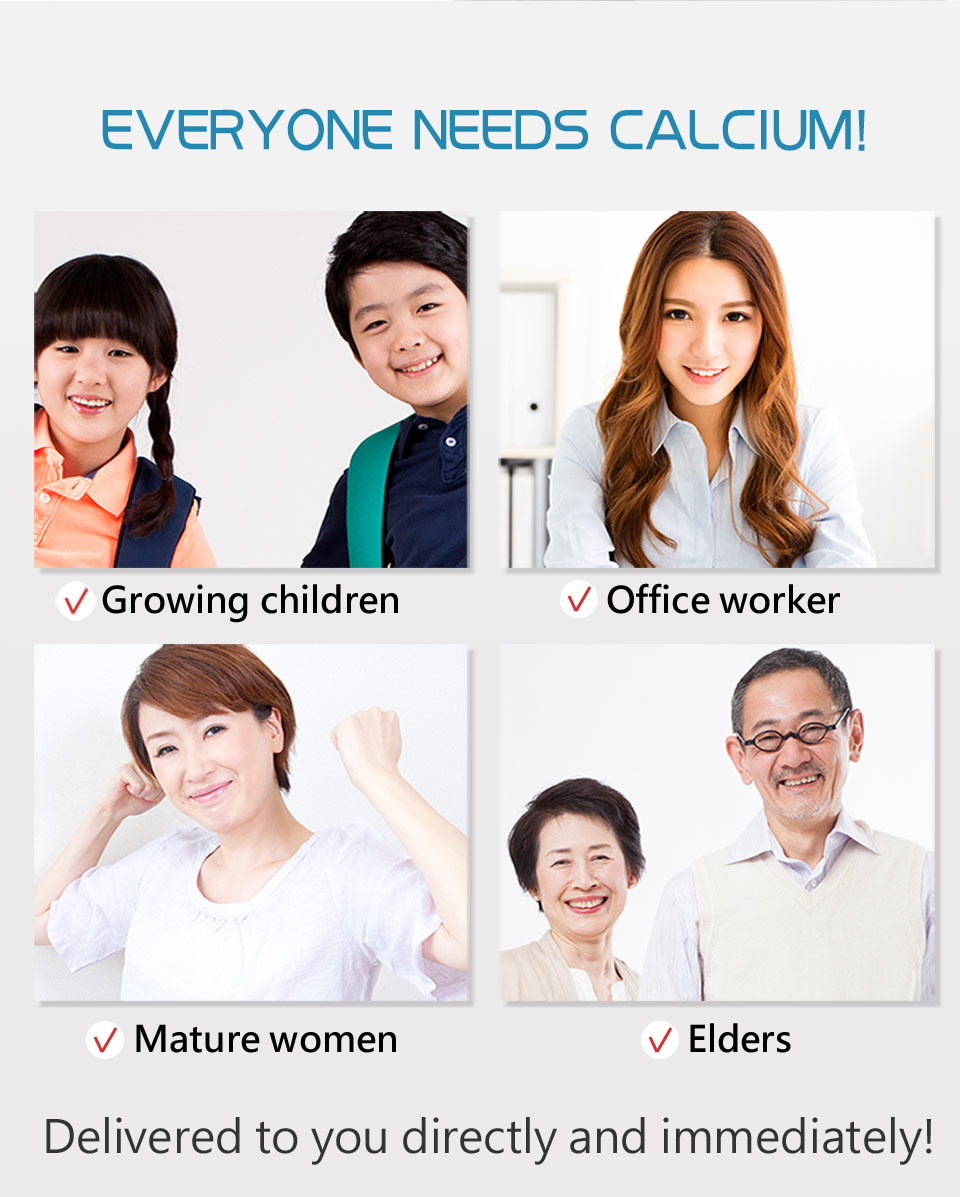 BHK's calaium may reduce the risk of osteoporosis.