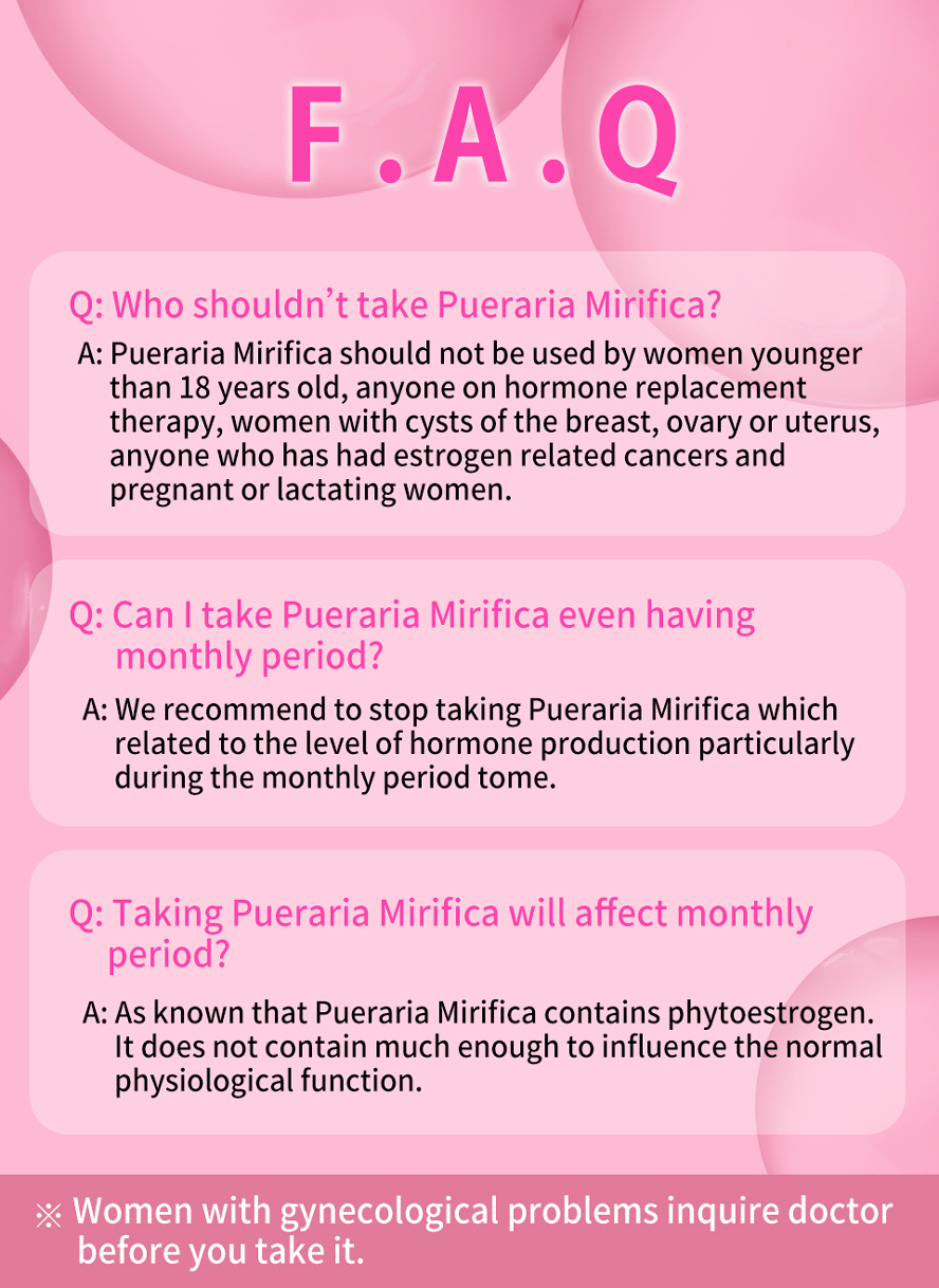 BHK's Pueraria Mirifica supports skin health and cell growth