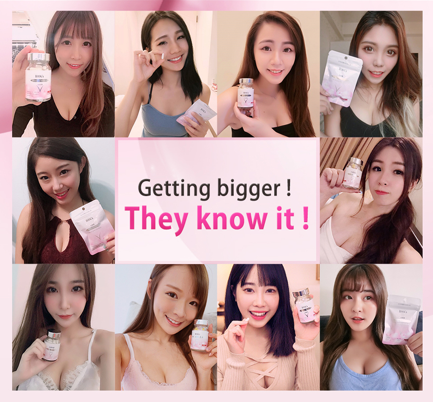 BHK's Pueraria Mirifica is highly recommended by Taiwanese celebrity  & model