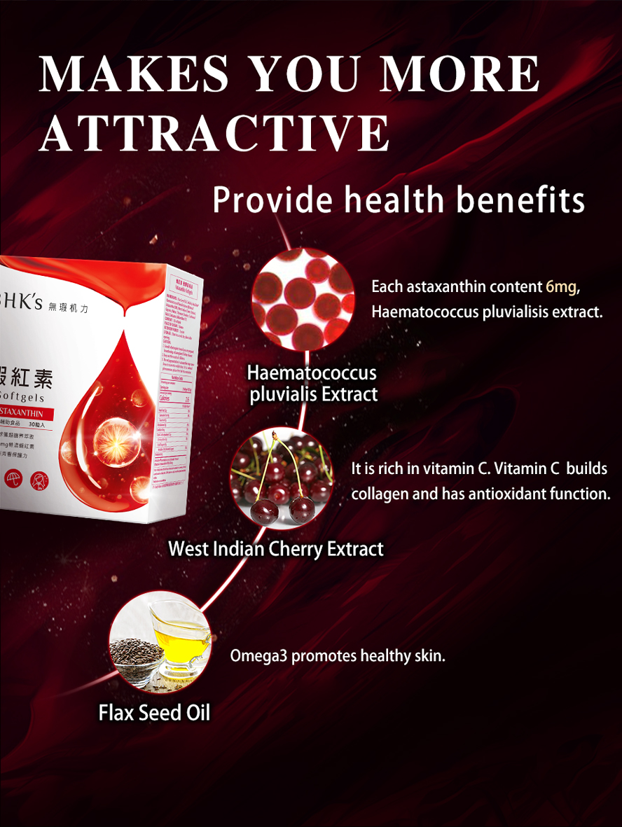 BHK Vitamin X promotes healthy skin.It more powerful than Vitamin C.Make you more attractive.