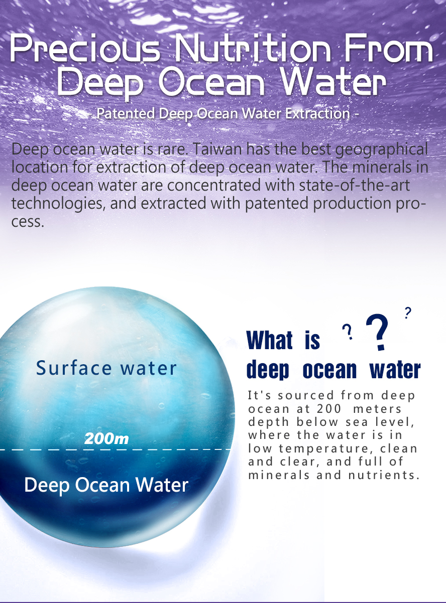 BHK's multi vitamins additional Deep Ocean Minerals which consists of minerals and trace elements