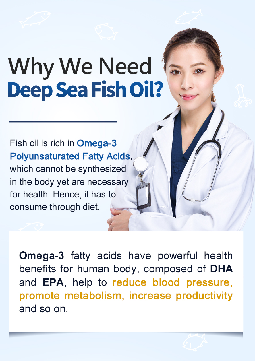 BHK's fish oil Omege-3 include DHA and EPA that can lower risk of heart disease.