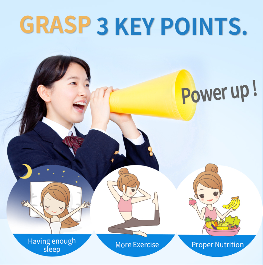 BHK's Patented YGF+Calcium Capsules accompanied by regular exercise and sound sleep- else,makes children grow taller.
