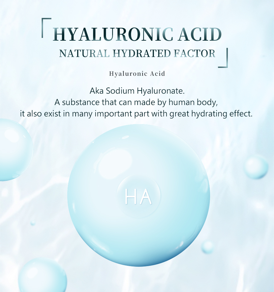 BHK Hyaluronic-acid reduces the appearance of wrinkles, it can make skin appear smoother.