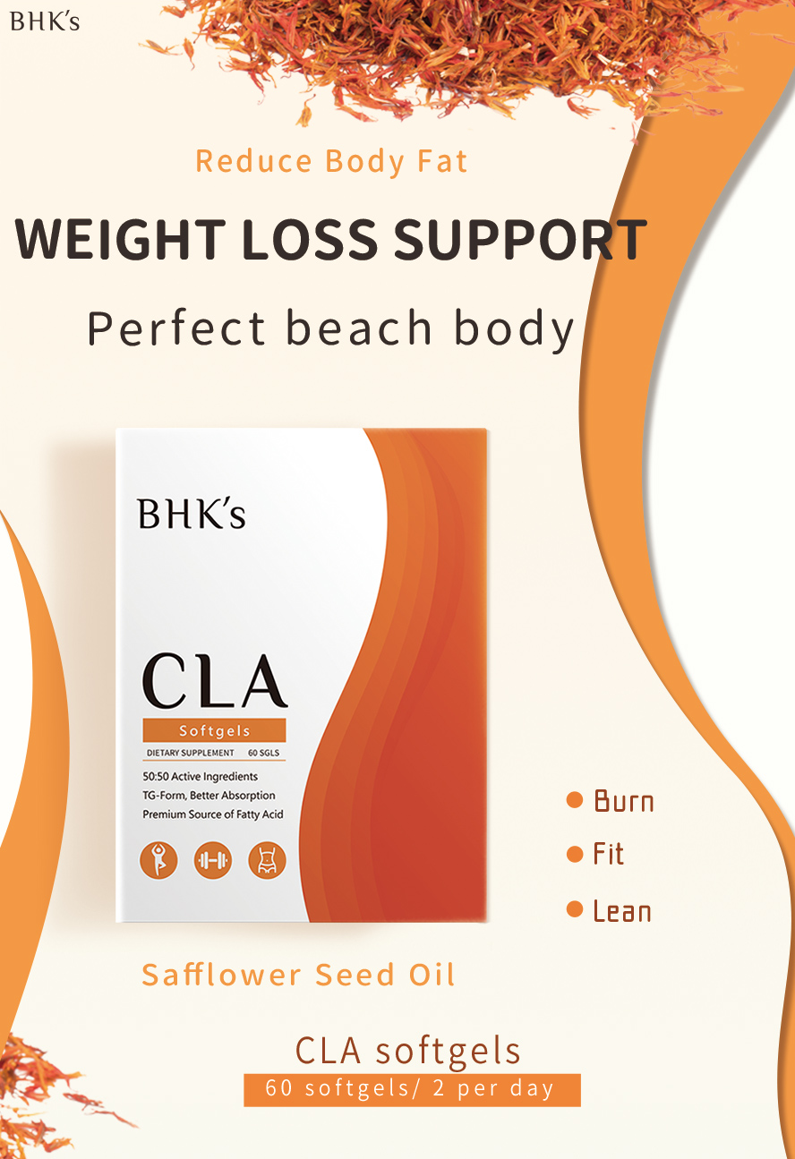 BHK's CLA help support weight loss and maintain lean muscle