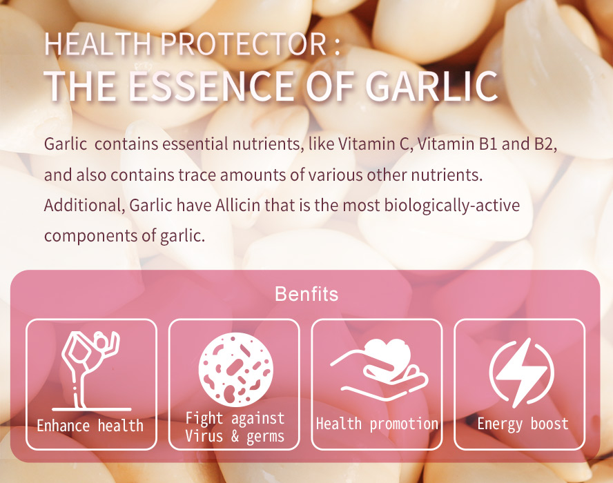 BHK Concentrate Garlic doesn't have bad smell.