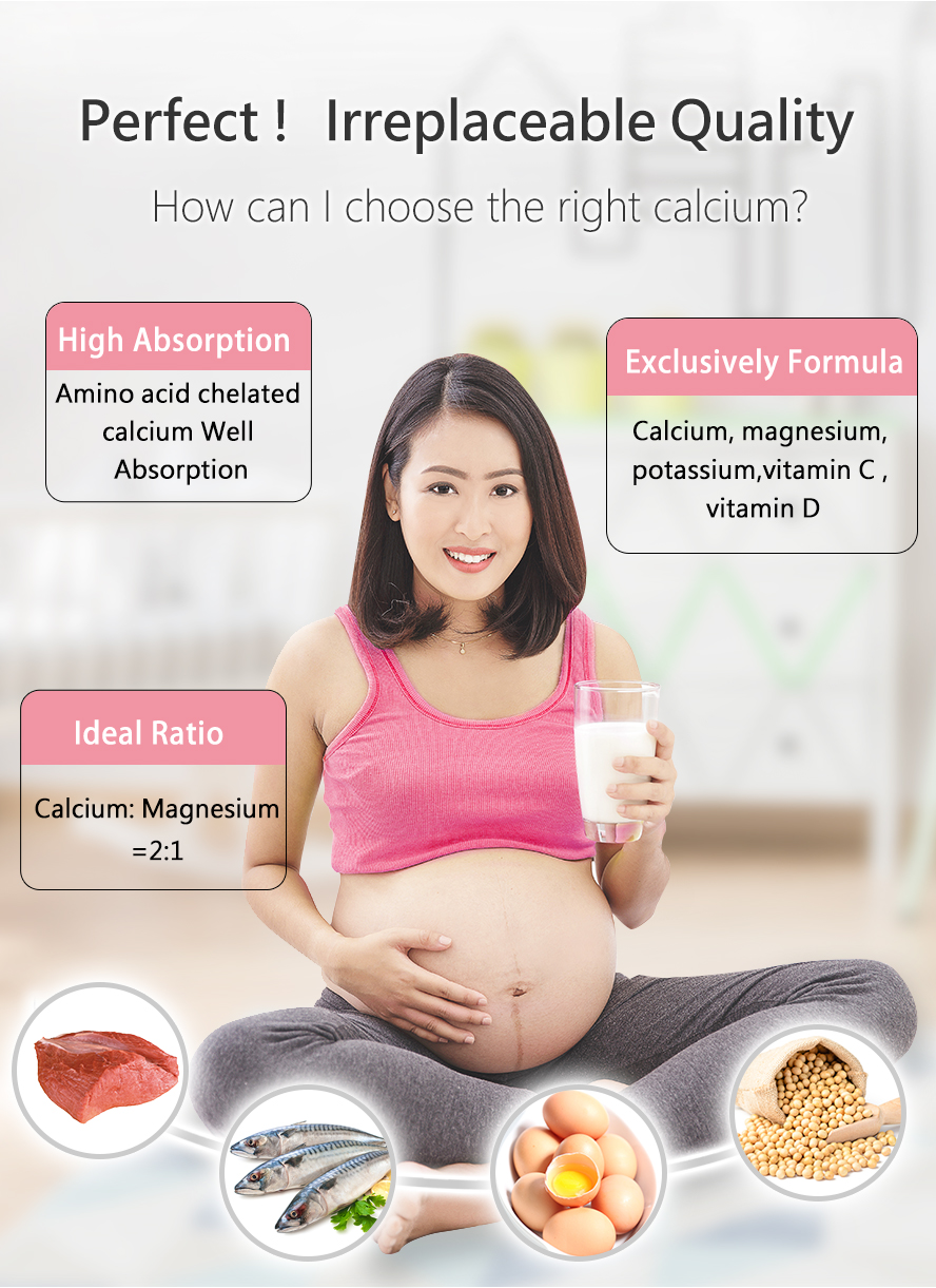 BHK-MaMa Calcium for those who have morning sickness, mood swings, fatigue, and other pregnancy symptom