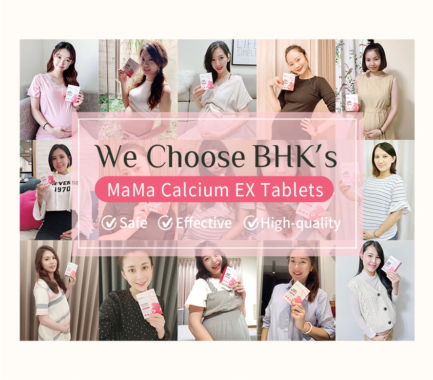 Fetus high needs of calcium results in mom's backache and insomnia, BHK provide safe and sufficient amount of calcium to help