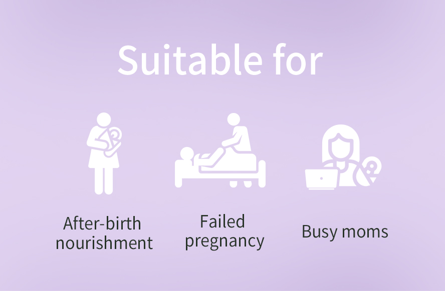 BHK's confinement care is suitable for women experiencing miscarriage and those with busy schedule after giving birth
