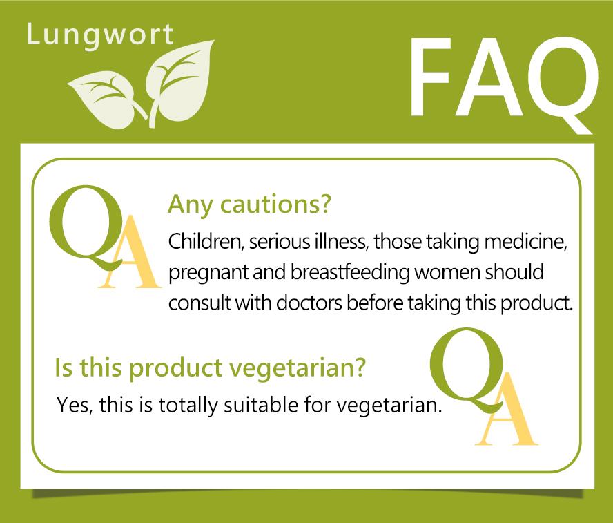 BHK's Lungwort is vegetarian.
