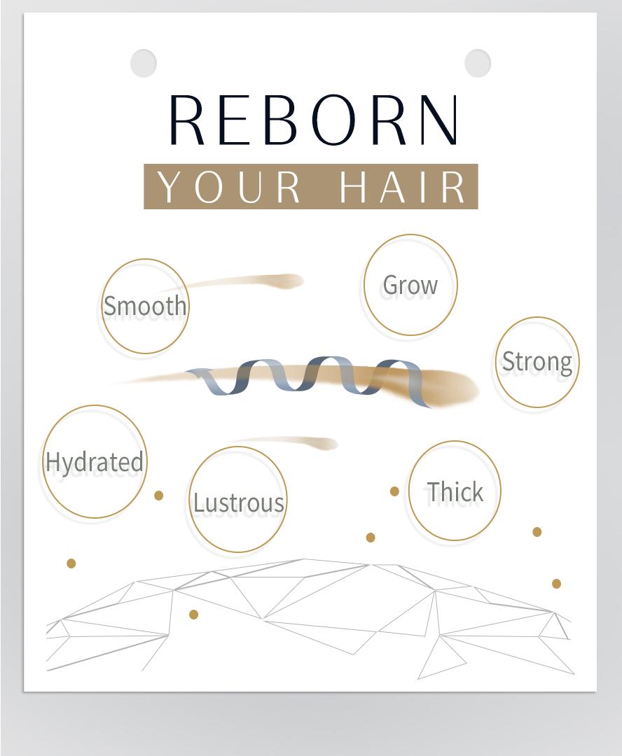 Biotin has moisturizing and smoothing properties and can help improve brittle nails, stimulate hair and nail growth and thicken hair.