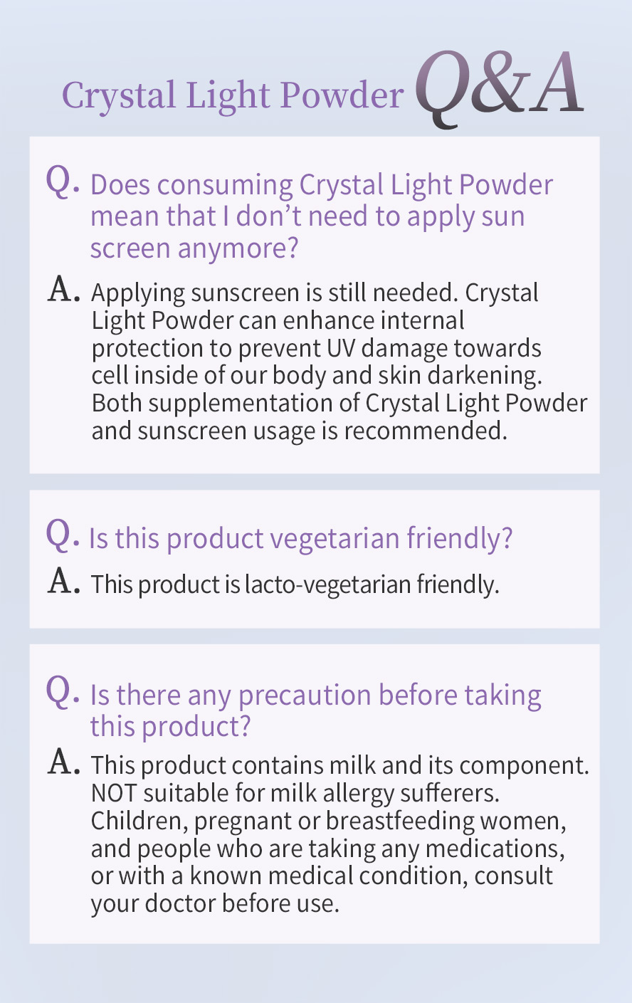 BHK's Crystal Light Powder supplementation and sunscreen appliance is your answer to bright and even skintone