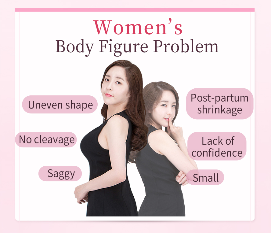 Specificially made for women wanting a better chest shape, better body figure, wanting to enlarge their breast but don't like swallowing pills