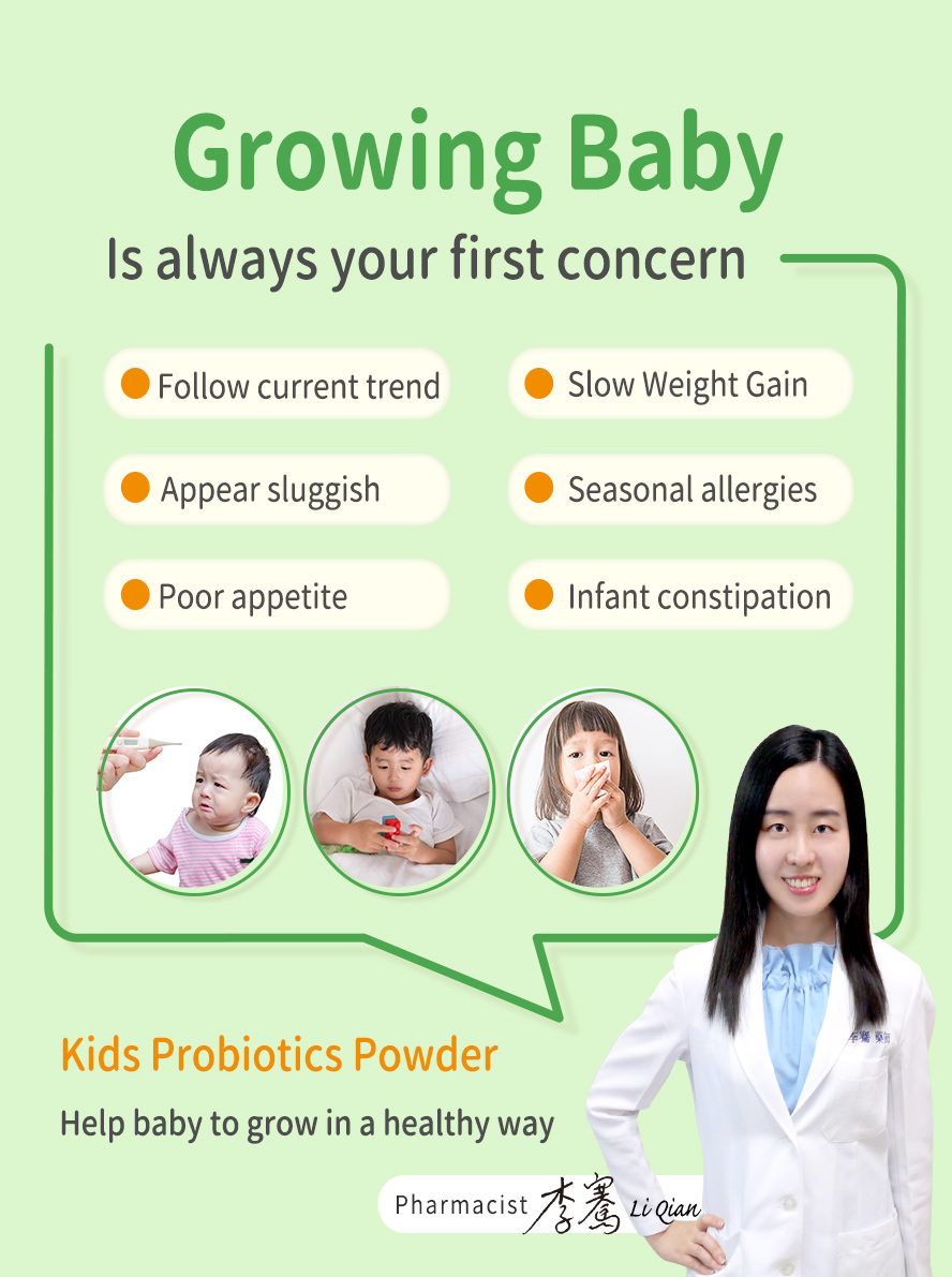 BHK's Probiotic can help support kid's digestive and immune system and maintain healthy.