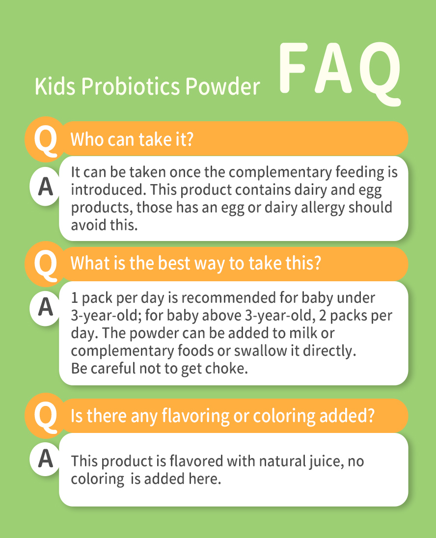With BHK's probiotic, you can help repopulate your baby's gut, promote full nutrient absorption and reactivate their natural defenses.
