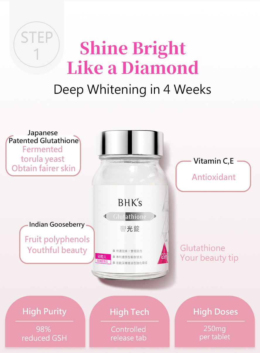 BHK's GlutathioneNaturalarbutin makes you visibly brighter and polished-looking skin