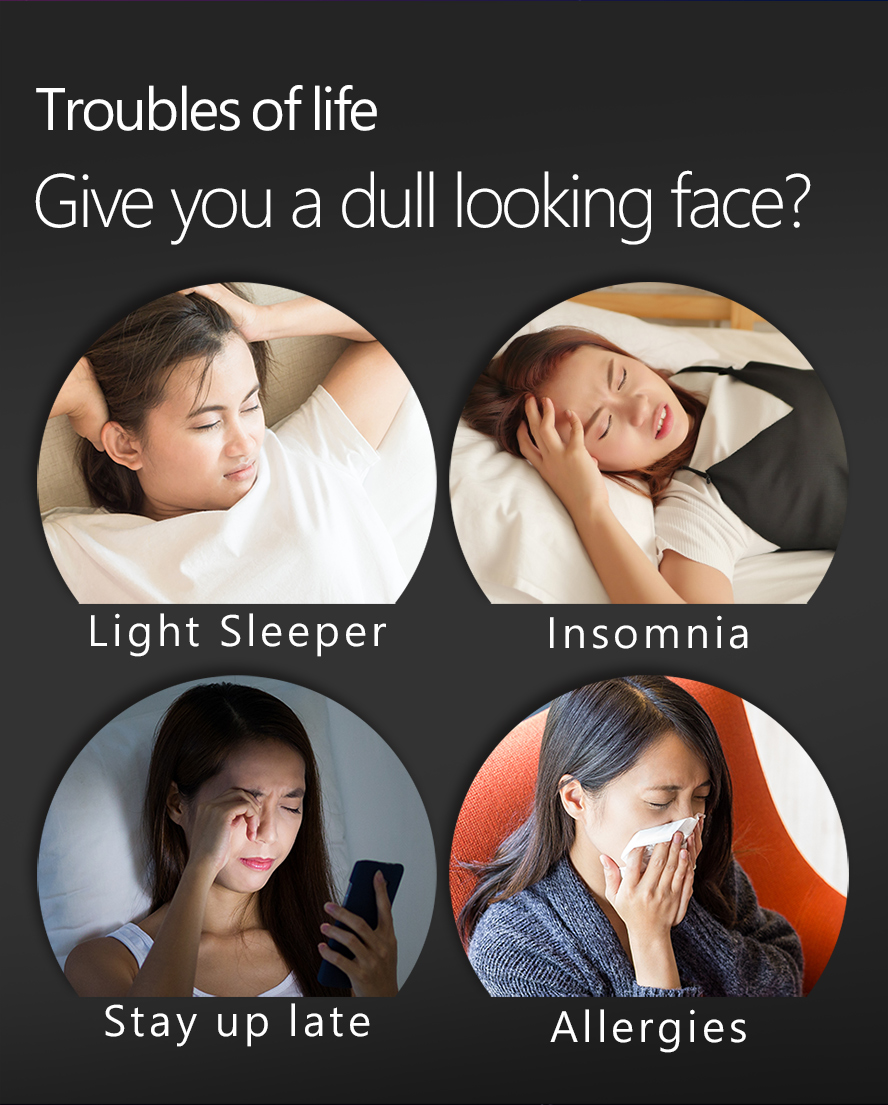 BHK Night Relax EX and BlackEye EX us a natural remedy that helps treat insomnia.