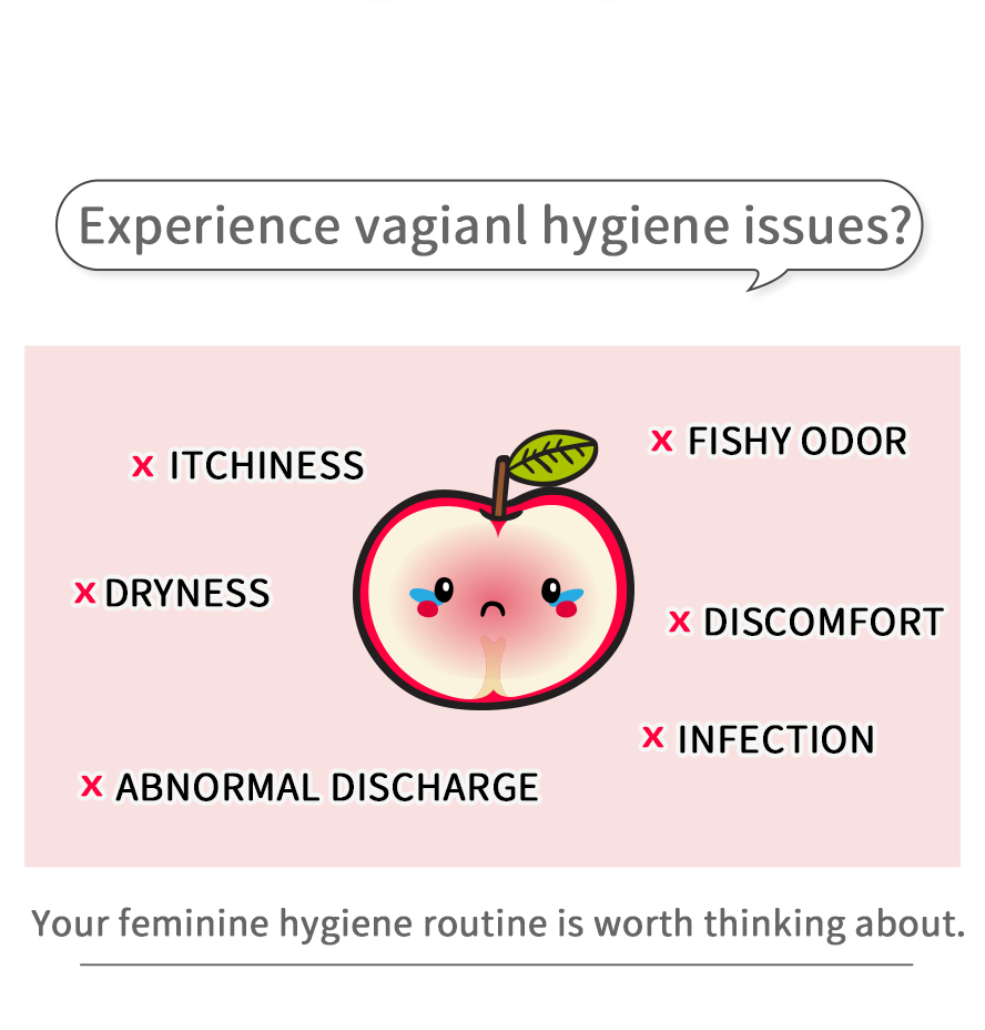 Fishy vaginal odor and itchy make your vagina feel uncomfortable? You need BHK's crimson feminine care cleansing mousse.
