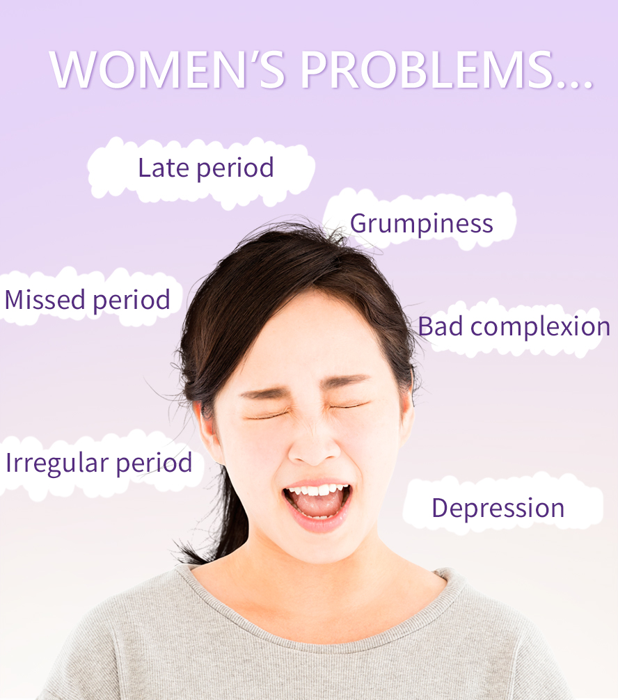 Premenstrual syndrome (PMS) has a wide variety of signs and symptoms, including mood swings, tender breasts, and depression