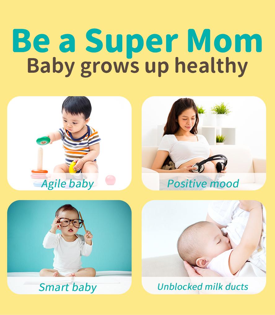BHK's DHA Algae Lecithin support your infant's brain development smarter.