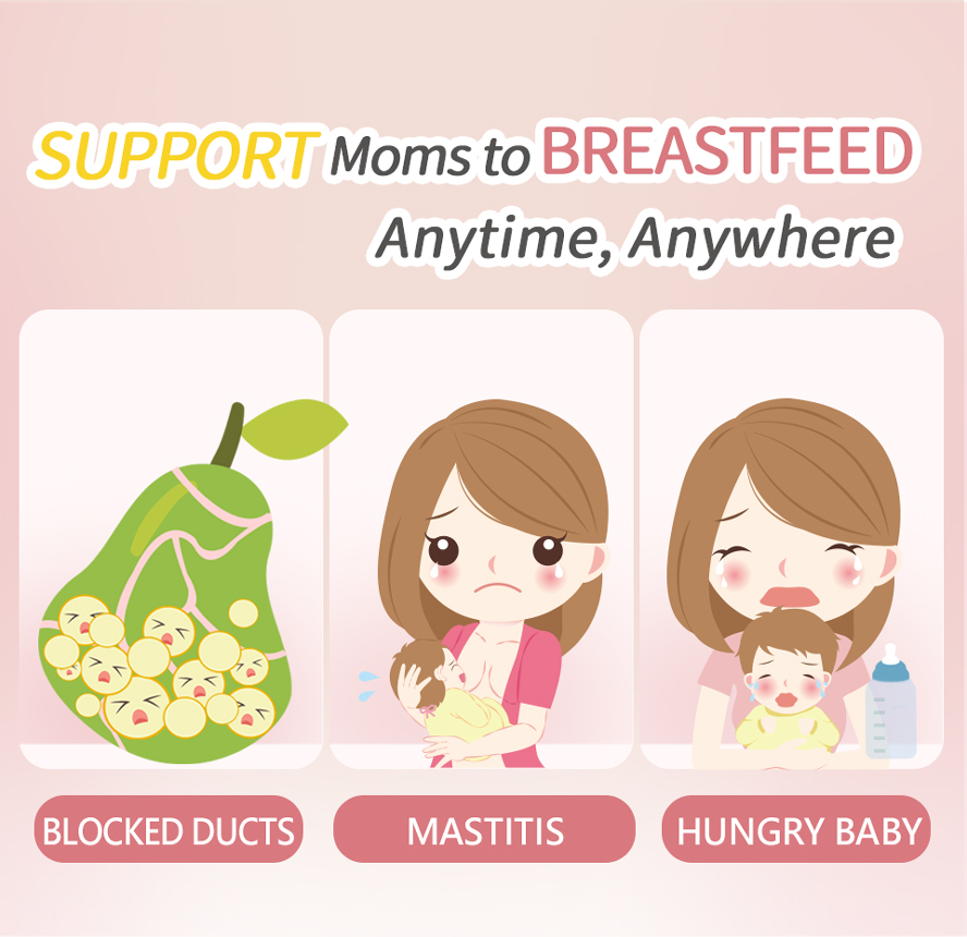BHK's LecithinBreastfeeding  help prevent of mastitis, breastfeeding with sufficient nutrition