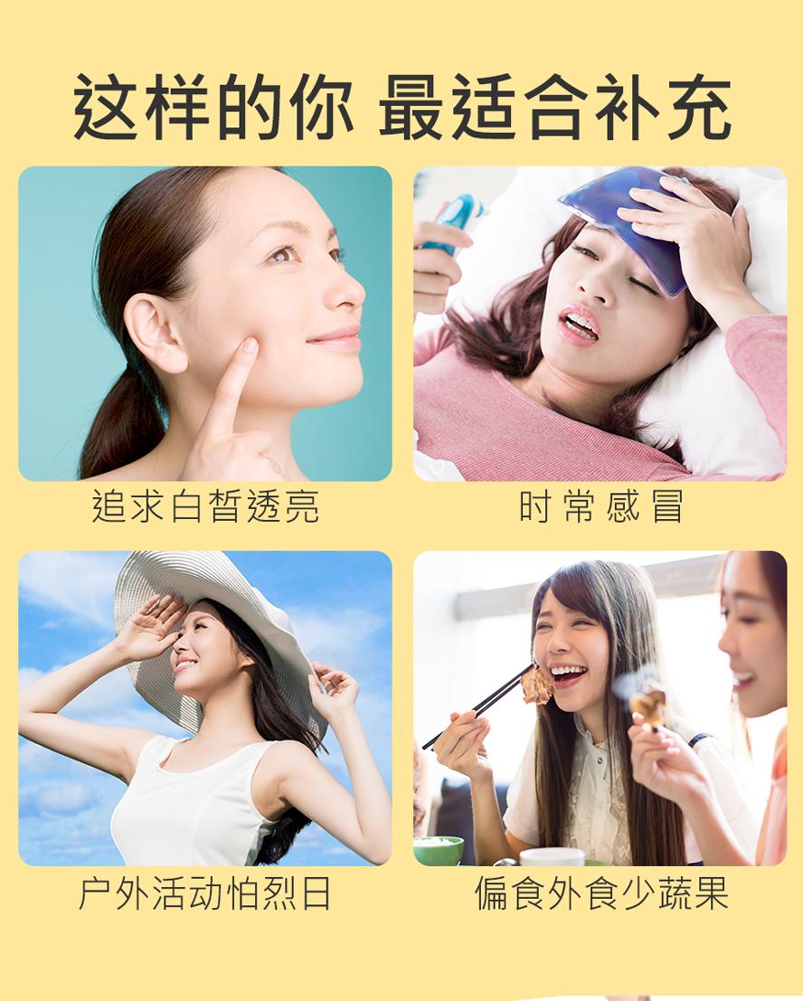 帮助抗氧化,有效伤口愈合,皮肤最好的防护罩