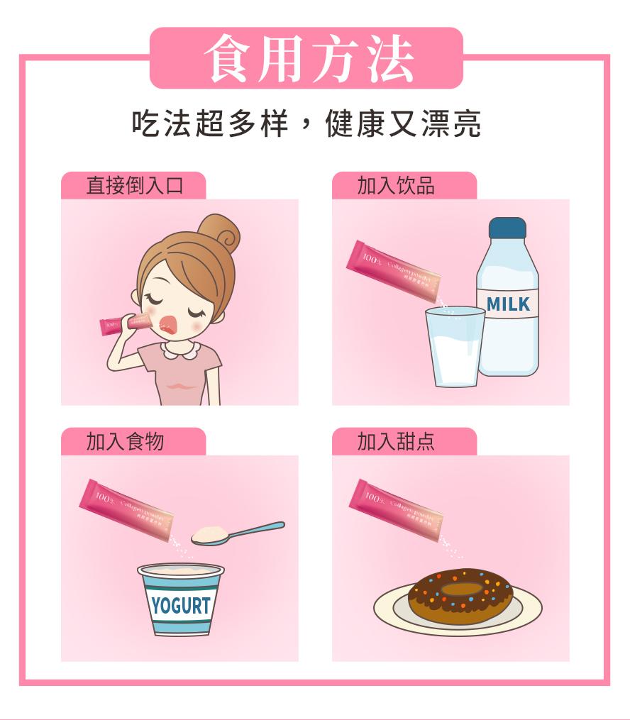 众多艺人,网红,部落客推荐BHK's胶原蛋白粉,可以直接食用也能加入饮品或是食物里.