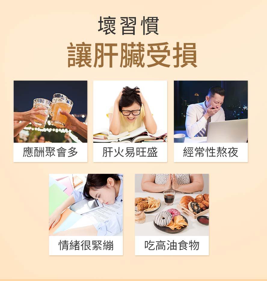 精神不濟,睡不飽,情緒起伏大都是肝臟問題的癥兆,請補充BHK's專利薑黃.