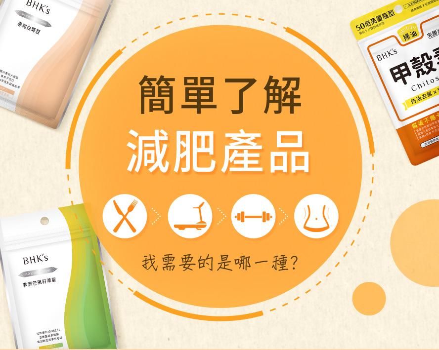 簡單了解減肥產品: 運動、 適量控制、 飲食剋星、去水腫、排毒, 你最需要是哪一種?